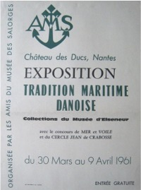 affiche exposition tradition maritime danoise